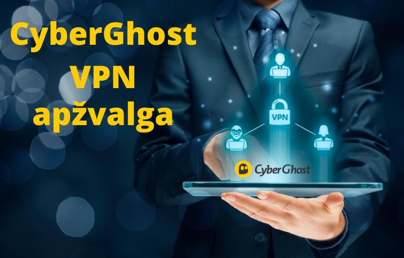 CyberGhost VPN apžvalga